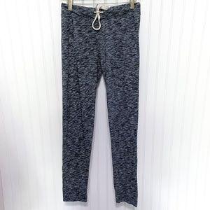 Monrow Dark Heather Grey Sweatpants Jogger Pants